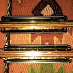 MB Deluxes- Dymondwood combs back.