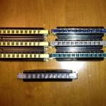 Various combs.