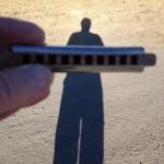 shadow harp man
